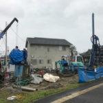 埋設物その後…地盤改良工事完了