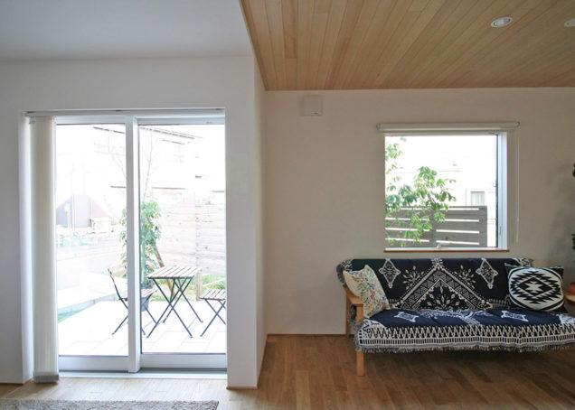 テラスのある家 - 嘉山モデルハウス