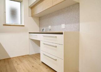ゆい工房新築事例 キッチン カップボード