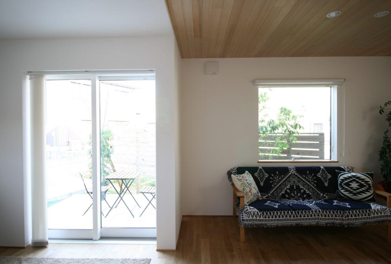 新潟市北区「嘉山の家」リビング